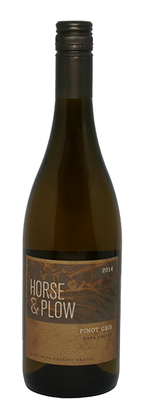 Horse and Plow Pinot Gris 2014