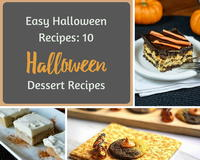 Easy Halloween Recipes: 10 Halloween Dessert Recipes