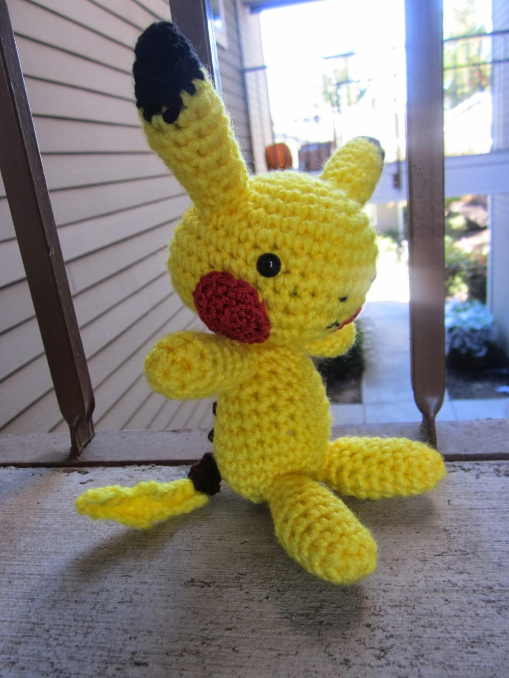 Playful Pikachu Inspired Amigurumi Allfreecrochet Com