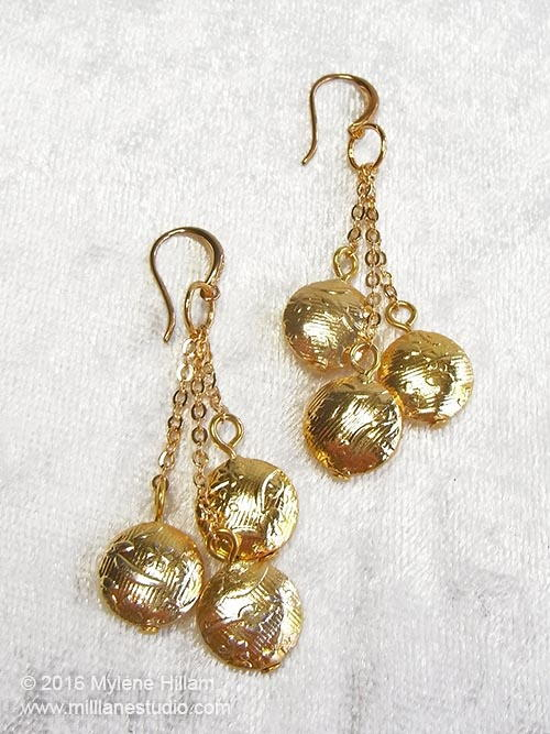 Gold Vermeil DIY Earrings