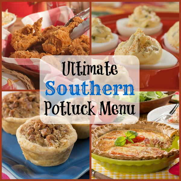Ultimate Southern Potluck Menu
