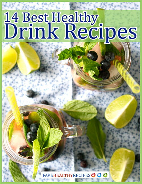 14 Best Healthy Drink Recipes Free eCookbook