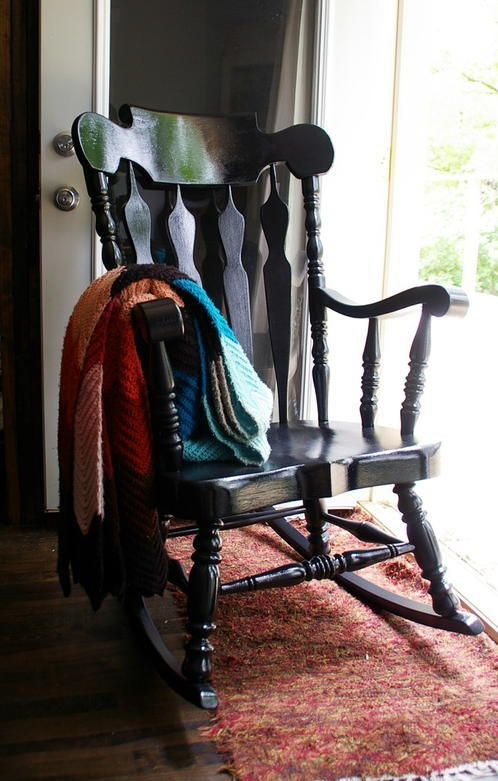 Rocking Chair Makeover Diyideacenter Com