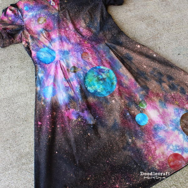 How to Make Galaxy Print