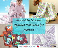 101 Adorable Crochet Blanket Patterns for Babies