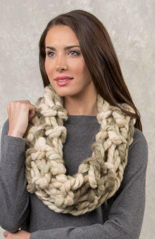 Lazy Alluring Arm Knit Cowl