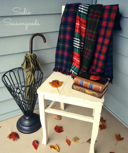 Mad for Plaid Throw Blanket