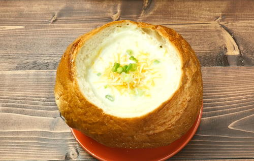 Old-Fashioned Potato Leek Soup