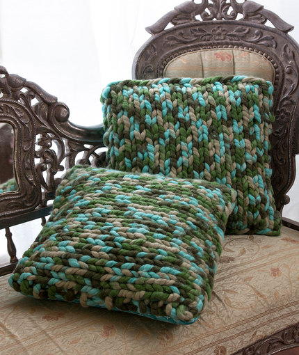 On Trend Knit Pillows