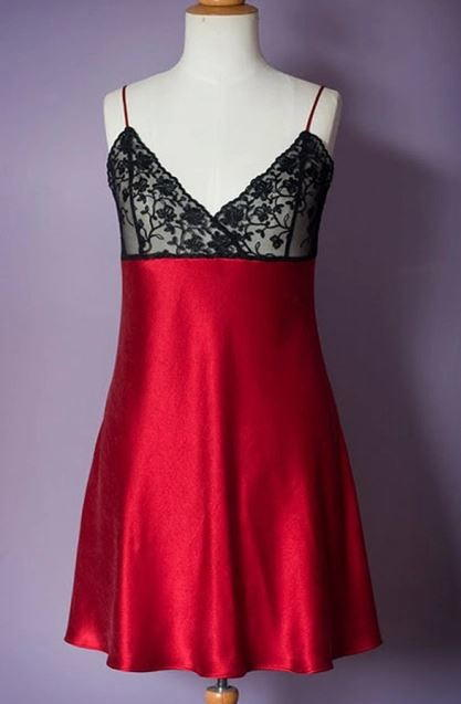Ruby Red Slip Pattern