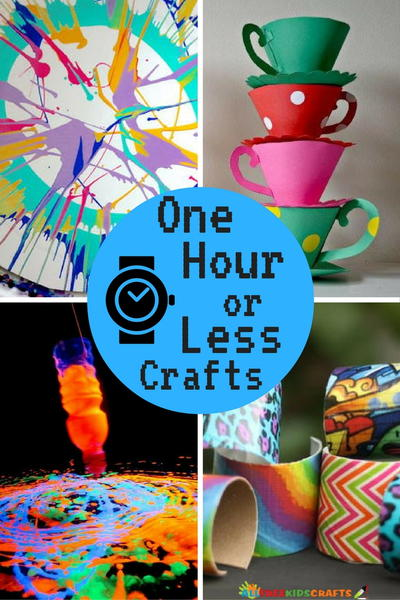 Quick and Easy Crafts One Hour or Less