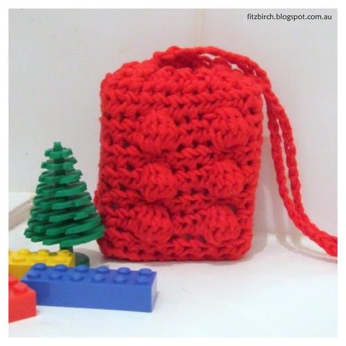 Crochet Lego Soap Saver