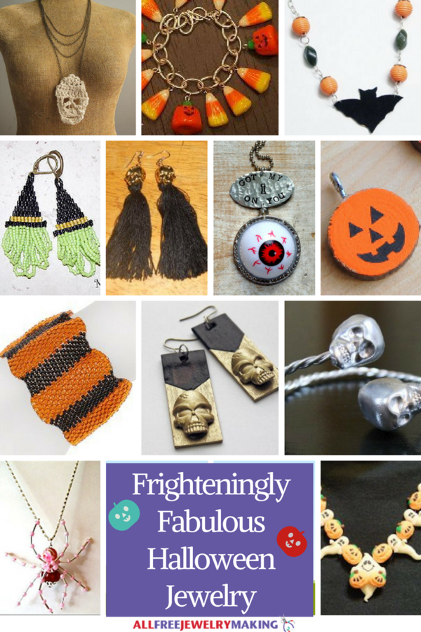 140 Frighteningly Fabulous Halloween Jewelry Projects