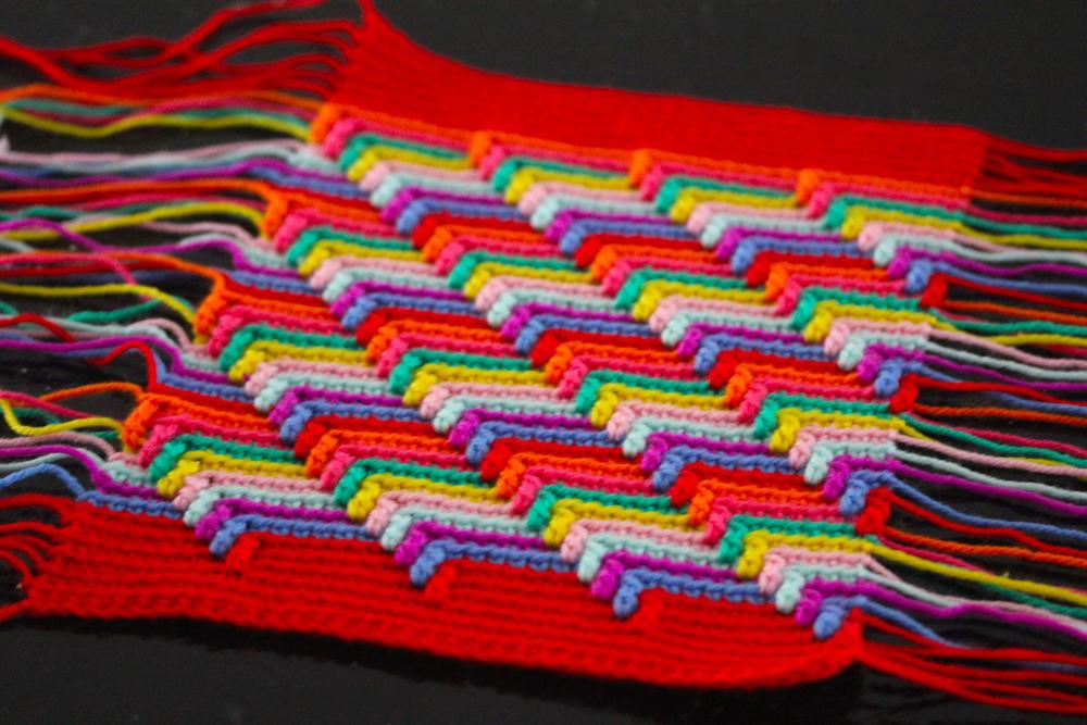 Apache Tears Crochet Blanket Pattern