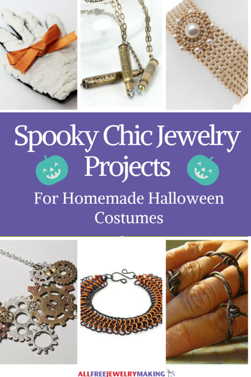 29 Spooky Chic Jewelry Projects for Homemade Halloween Costumes
