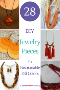 Festive Fall Craft Ideas: 28 DIY Jewelry Pieces in Fashionable Fall Colors