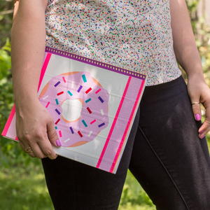 Donut Notebook Duct Tape Craft for Kids