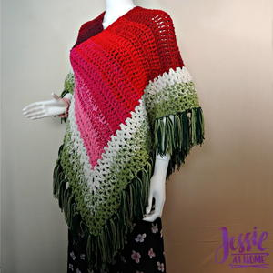 Holiday Poncho