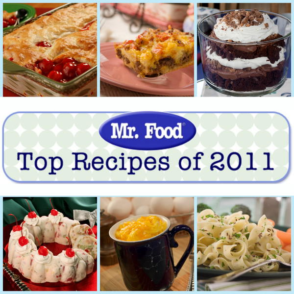 Mr Foods Top 100 Recipes of 2011