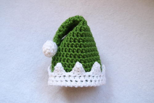 Adorably Elfish Preemie Hat