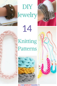 14 Knit DIY Jewelry Patterns