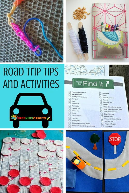 Road Trip Tips and Car Activities for Kids
