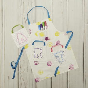 Kids Reversible Apron Pattern