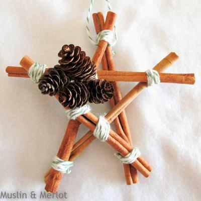 10-Minute Cinnamon Stick Ornament