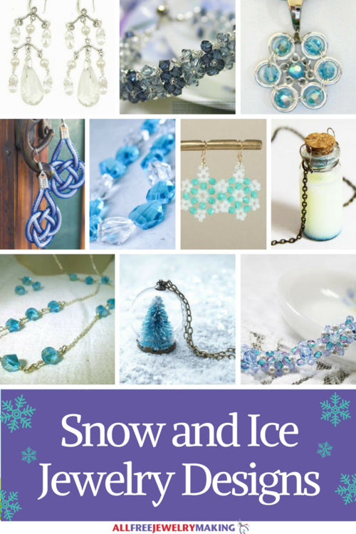42 Snow and Ice Jewelry Designs
