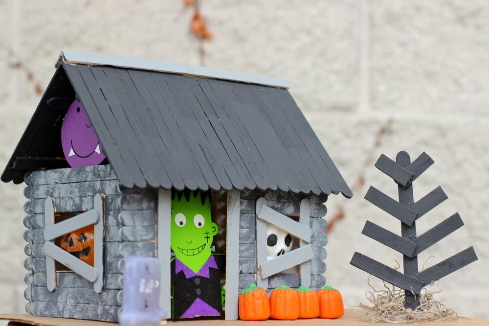Halloween Haunted House Craft For Kids Allfreekidscrafts Com