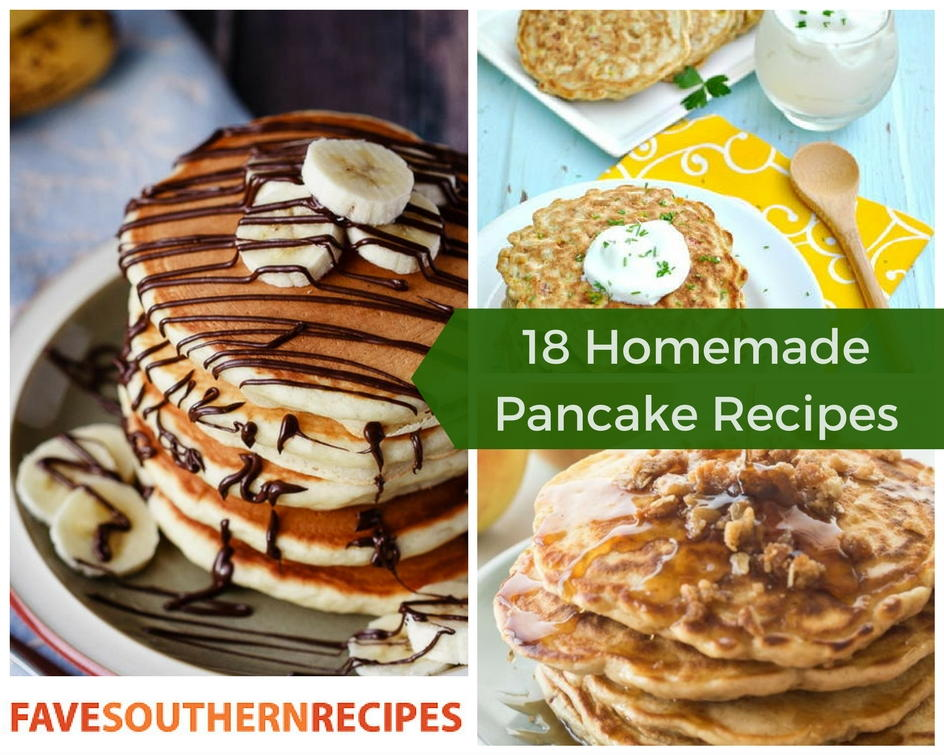 Favesouthernrecipes Com: 18 Homemade Pancake Recipes