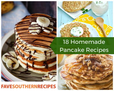 18 Homemade Pancake Recipes