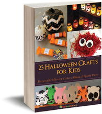 23 Halloween Crafts for Kids: Homemade Halloween Costume Ideas and Spooky Decor eBook
