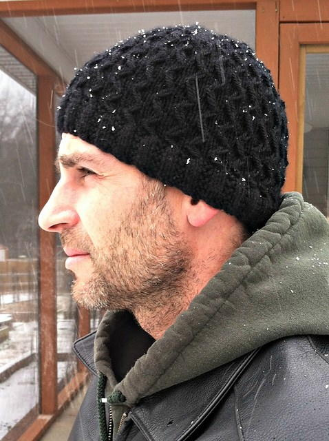 Slip Stitch Hubby Hat Allfreeknitting Com