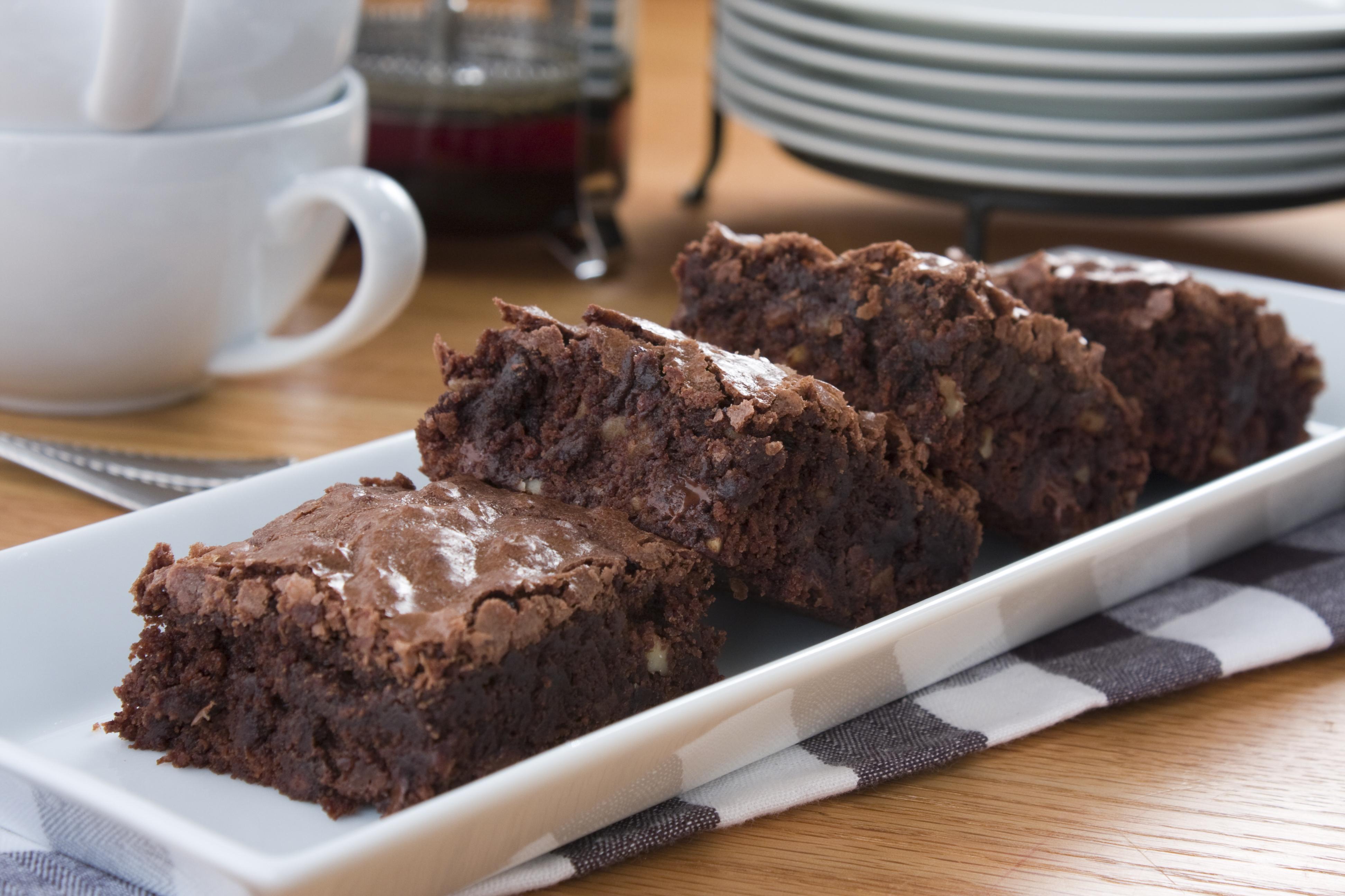 Ultimate Fudgy Brownies Mrfood Com