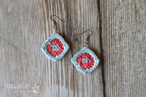 Granny Square DIY Earrings