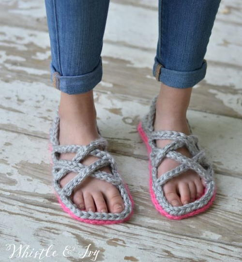 Gladiator Gal Crochet Sandals