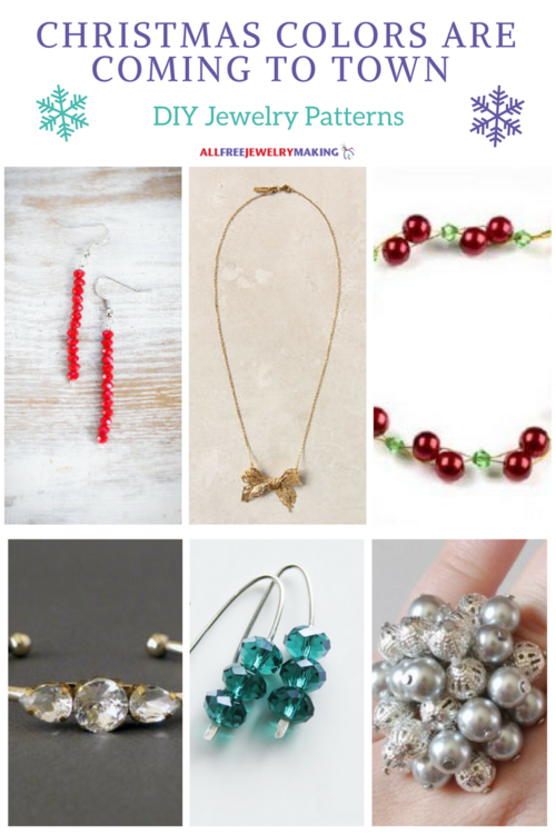 Christmas Colors Are Coming to Town: DIY Jewelry Christmas Patterns