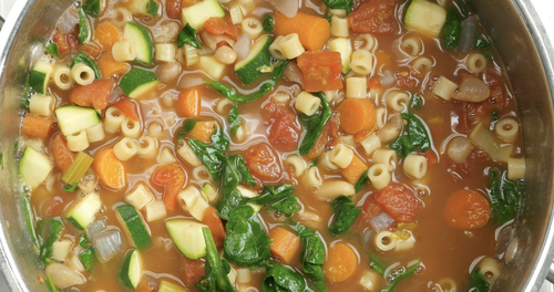 Quick and Easy Minestrone