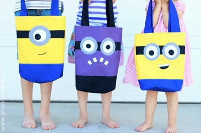 Minions-Inspired Tote Tutorial