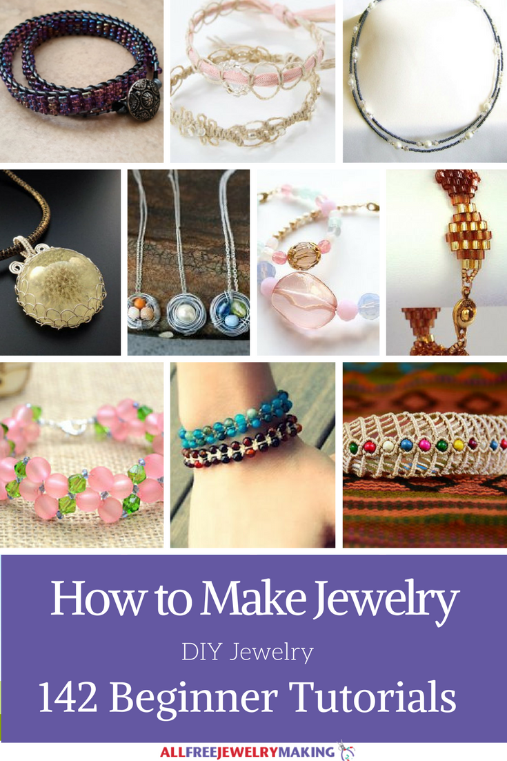 how to make jewelry 142 beginner diy jewelry tutorials. Black Bedroom Furniture Sets. Home Design Ideas