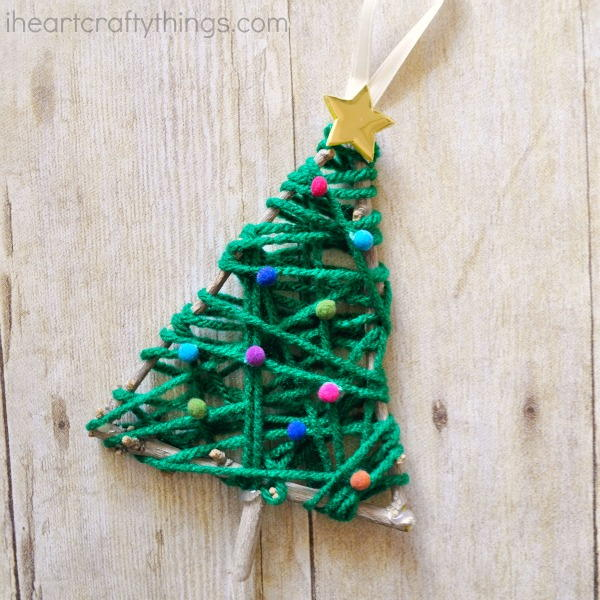 Twinkly Twig Christmas Tree Ornament Allfreekidscrafts Com