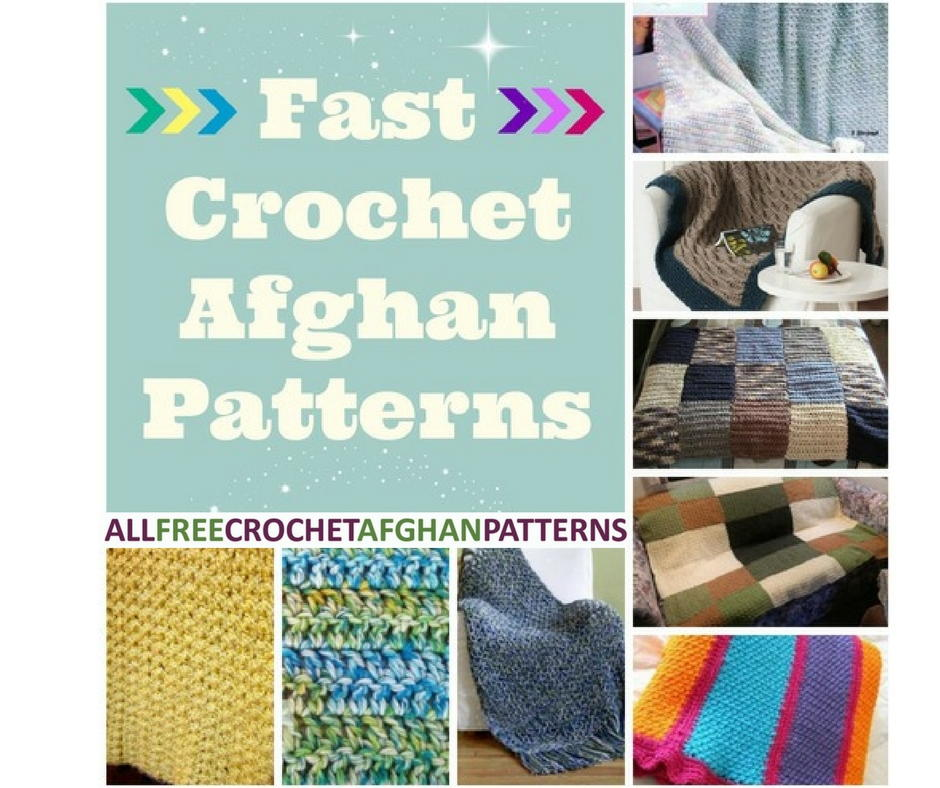 Free Pattern For Quick Crochet Afghan : 32 Fast Crochet Afghan Patterns ...