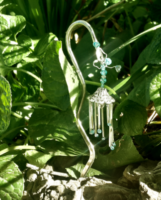 Fairy Wind Chimes for a Fairy Garden
