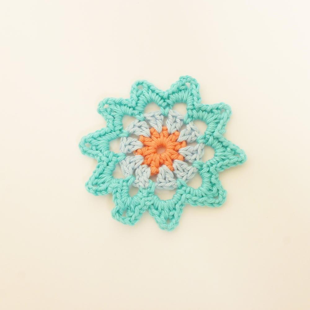 Star Flower Pattern Allfreecrochet Com