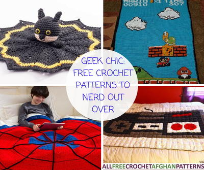 Geek Chic 8 Crochet Blanket Patterns to Nerd Out Over