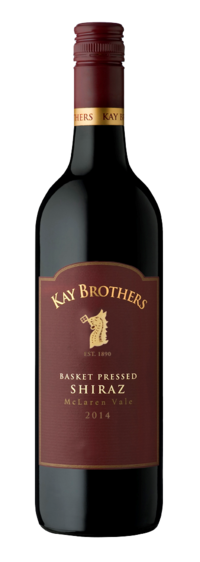 Kay Brothers Basket Pressed Shiraz 2014