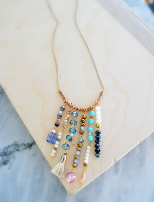 Boho Chic Statement Necklace
