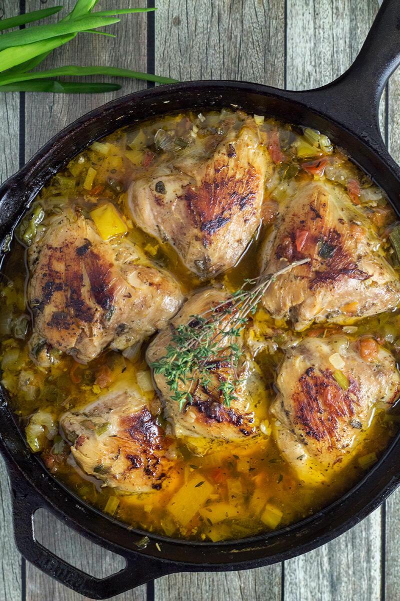 Jamaican Brown Stew Chicken Recipelion Com