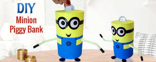 Recycled Minion Piggy Bank Allfreekidscrafts Com